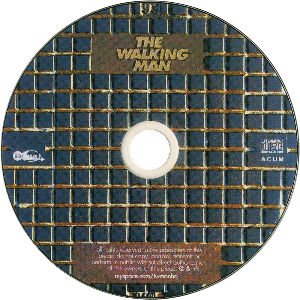 The Walking Man - cd